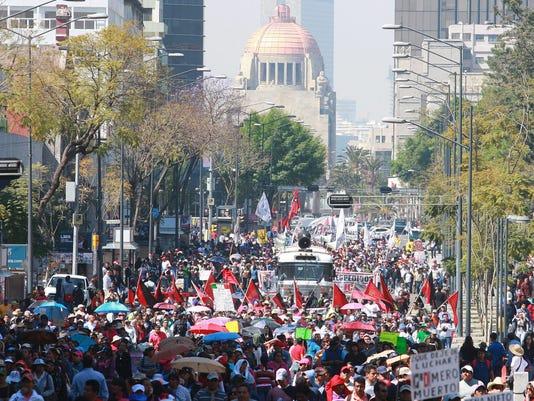 MEXICO PROTEST OIL