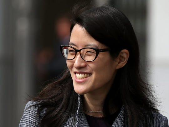 Ellen Pao, whose discrimination lawsuit against her