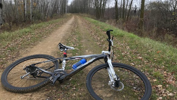 I had the Mountain-Bay State Trail east of Shawano