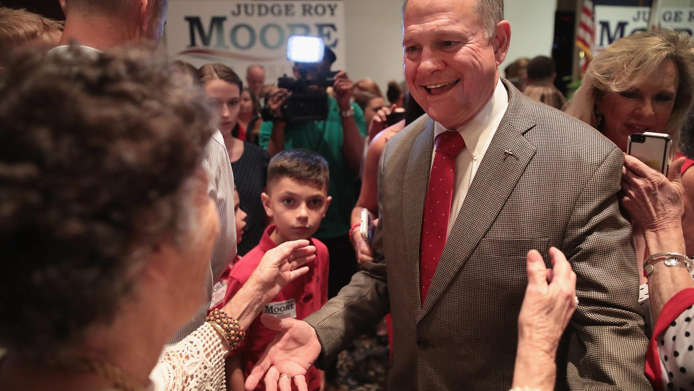 91f4f04ff3 Roy Moore wouldn t stand a chance in many Senate races after defying  federal court orders
