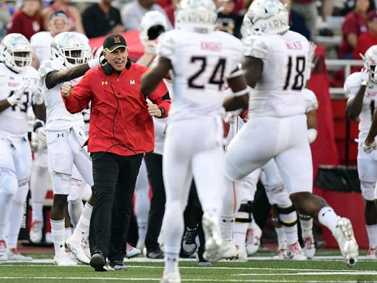 First-year Maryland coach D.J. Durkin has served as an assistant under Urban Meyer (twice) and Jim Harbaugh.