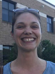 Laura Spencer Eberly, 38, a small business owner from