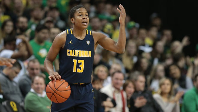 California Golden Bears guard Charlie Moore (13) announced that he's transferring.