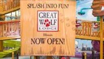 Great Wolf Lodge Illinois in Gurnee is now open.