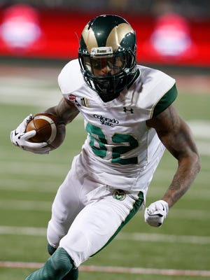 CSU receiver Rashard Higgins wouldn't say Tuesday night what his future holds after setting the school record for career receiving yards in the Arizona Bowl. Higgins is projected as a third- or fourth-round pick in the 2016 NFL draft if he chooses to come out early and skip his senior season.