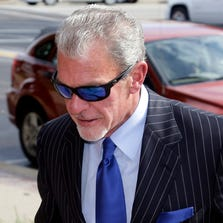 Indianapolis Colts owner Jim Irsay will not be able to rejoin his team until October.