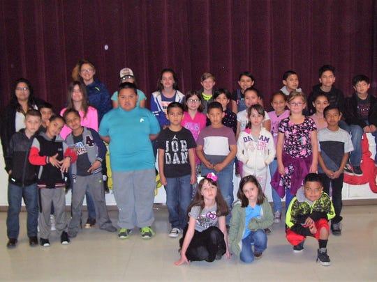 Oregon Elementary School had 32 students qualify for