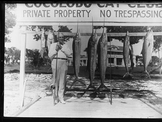 Harding fishing