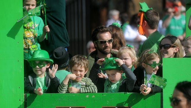 The 38th annual St. Patrick's Day Parade in downtown Sioux Falls will be held Saturday.