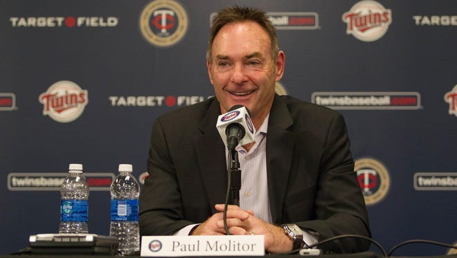 Paul Molitor becomes just their third manager since 1986.