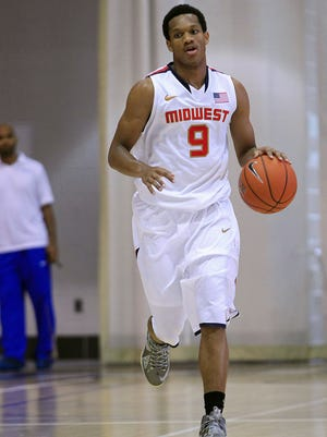 Rashad Vaughn is the country's 8th best recruit according to Rivals.