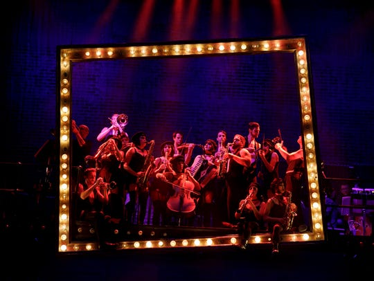 "The cast of ""Cabaret"" provides story, song, and live"