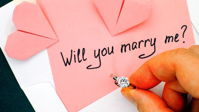 The Lansing State Journal is looking for stories about how couples became engaged.