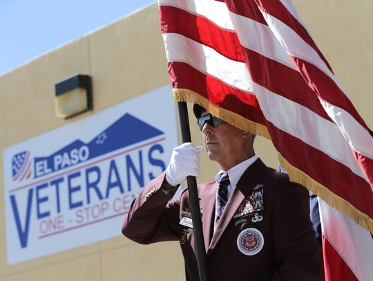 The El Paso Veterans One Stop Center officially opened