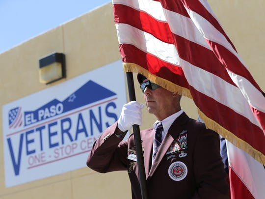 The El Paso Veterans One Stop Center officially opened Wednesday at 9565 Diana Drive.
