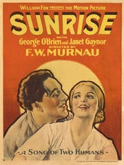 "Movie poster for ""Sunrise"""