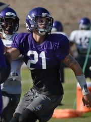 Westlake High graduate Klayton Wood will likely start at safety and is also the team's starting punter for the Cal Lutheran football team.