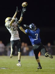 Greece Athena's Johnny Salone (20) makes a leaping