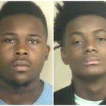 Wanted: Pierre Pryer (left) In Custody: Ivan Eatmond