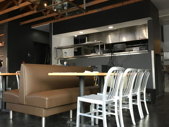 Tinker Street diners will see chefs in action. Tables