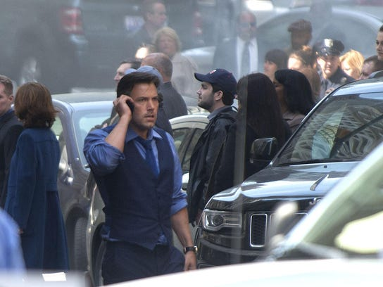 Ben Affleck Films Batman V Superman in Detroit