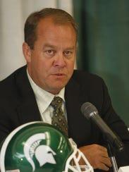 Michigan State Athletics Director Mark Hollis announced