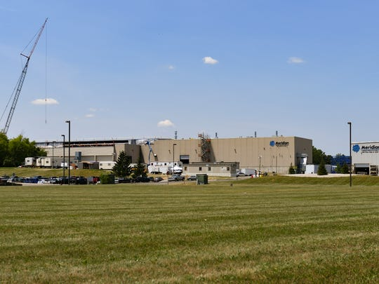 The Meridian Magnesium Productions of American plant in Eaton Rapids may end up completely rebuilt by September. The plant was severely damaged May 2 by a fire and explosions and is located at 2001 Industrial Drive.