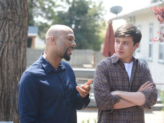 """Common (left) and Nick Robinson star in """"Being Charlie."""""""