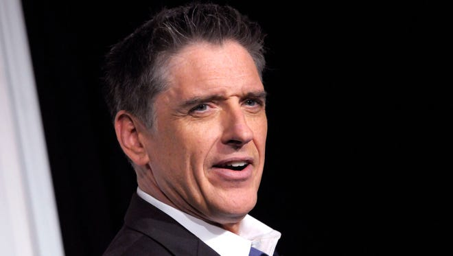 """Craig Ferguson appears backstage at the Grammy Nominations Concert, in Los Angeles on Dec. 1, 2012. Ferguson will spend tomorrow's future yesterdays (as his theme song proclaims) somewhere other than """"The Late Late Show."""" Friday Dec. 19, 2014 was his last hoorah after a decade as host of the CBS talk show."""