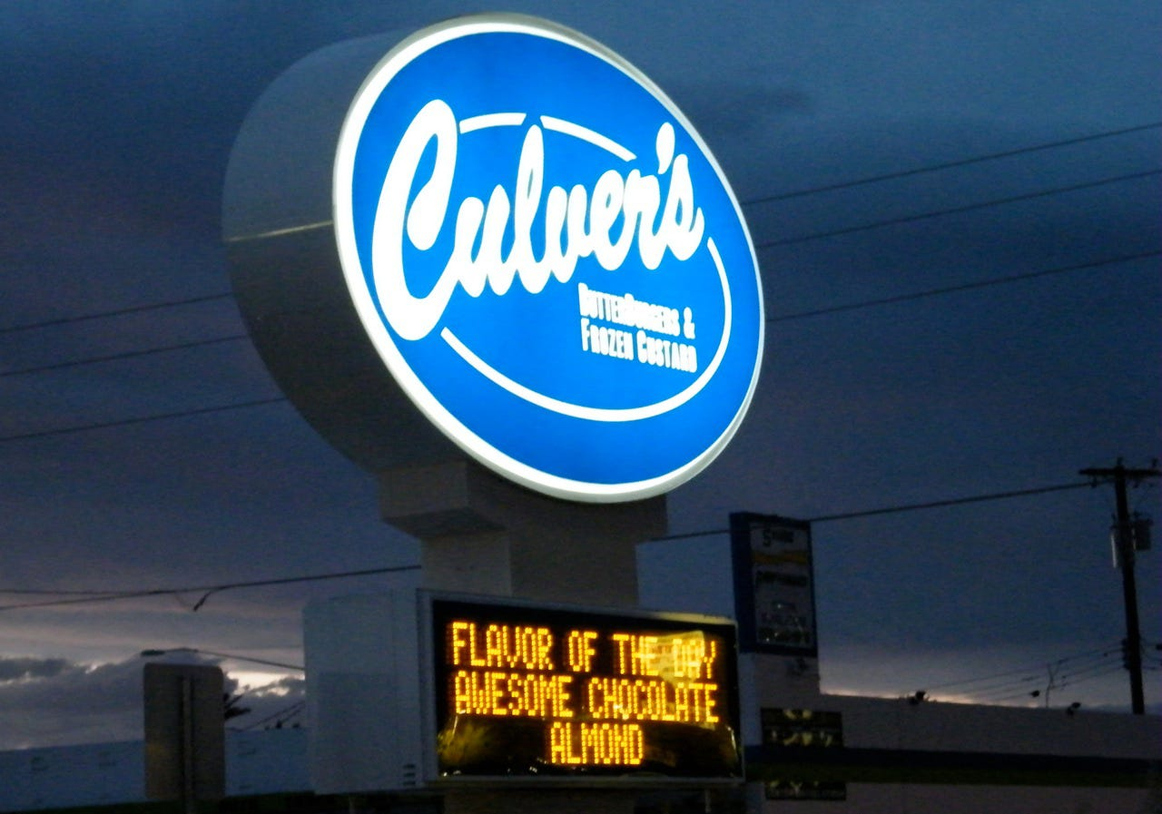graphic regarding Culver's Printable Coupons titled Culvers birthday discounts / Financial institution of the united states present-day bargains