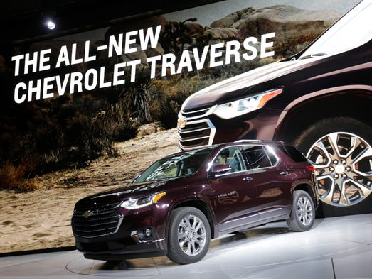 General Motors reveals the 2018 Chevrolet Traverse