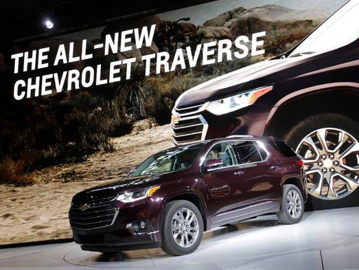 General Motors reveals the 2018 Chevrolet Traverse