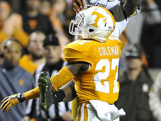 Tennessee's Justin Coleman went undrafted, meaning the Vols didn't have a player taken for the first time since 1963.