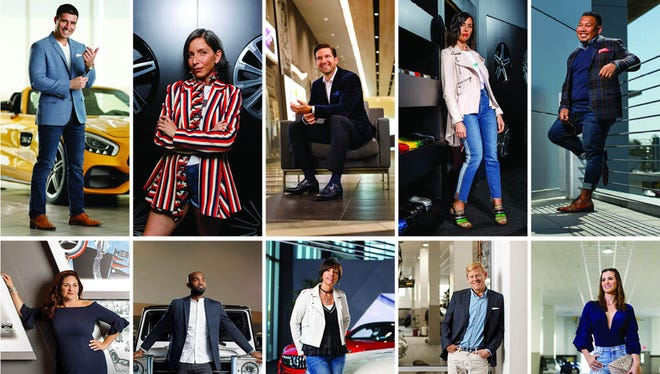 Grandeur's 2018 Southwest Florida Style Icons are photographed at Mercedes Benz of Bonita Springs.