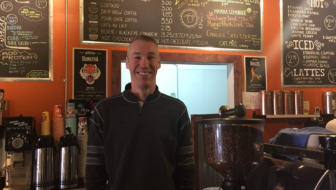 Kevin Eichelberger took over as the owner of Patina Coffeehouse Friday. He's also one of the current owners of Red Eye Brewing Company.