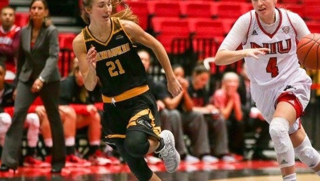 Lincoln alum and current UW-Milwaukee basketball player Alyssa Fischer missed all but 9 games last season due to injury, but is better for it.