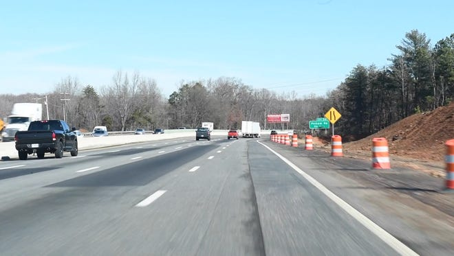 A reader wants to know if there are plans to extend the  fourth lane of I-85 northbound between Woodruff and Pelham Roads
