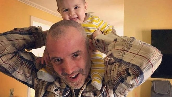 Kevin Sullivan, of Sherborn, with his daughter, Adelynn. Sullivan was struck and killed Wednesday by an alleged drunk driver.