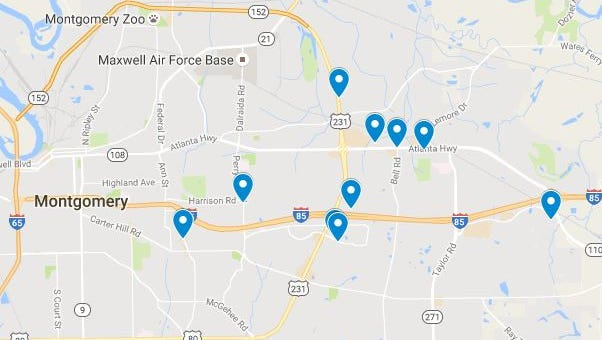 Ten businesses were robbed from October 24-31 have been connected to one person. Degregory Lee has been charged with 16 counts of robbery.