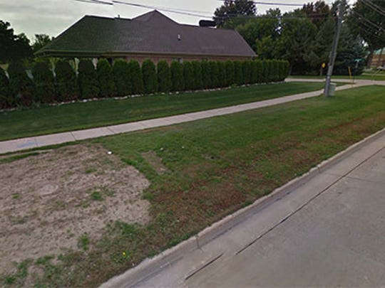 This Google street view image shows the home before