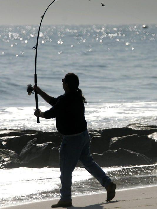 surf fisherman fenwick