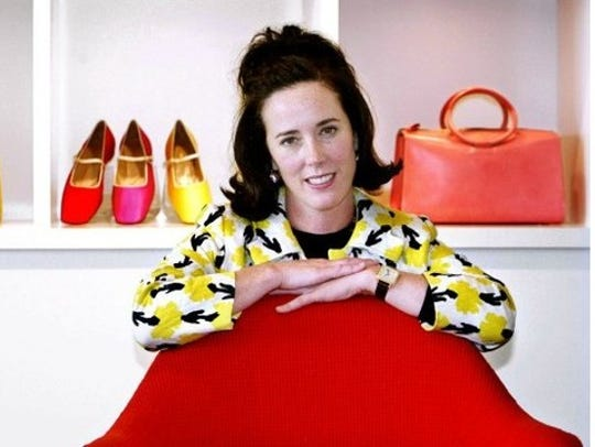 Kate Spade, a well-known designer and businesswoman,