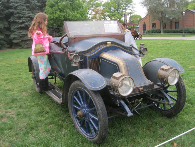 This rare 1908 Renault AG, owned by Dorothy Grace of