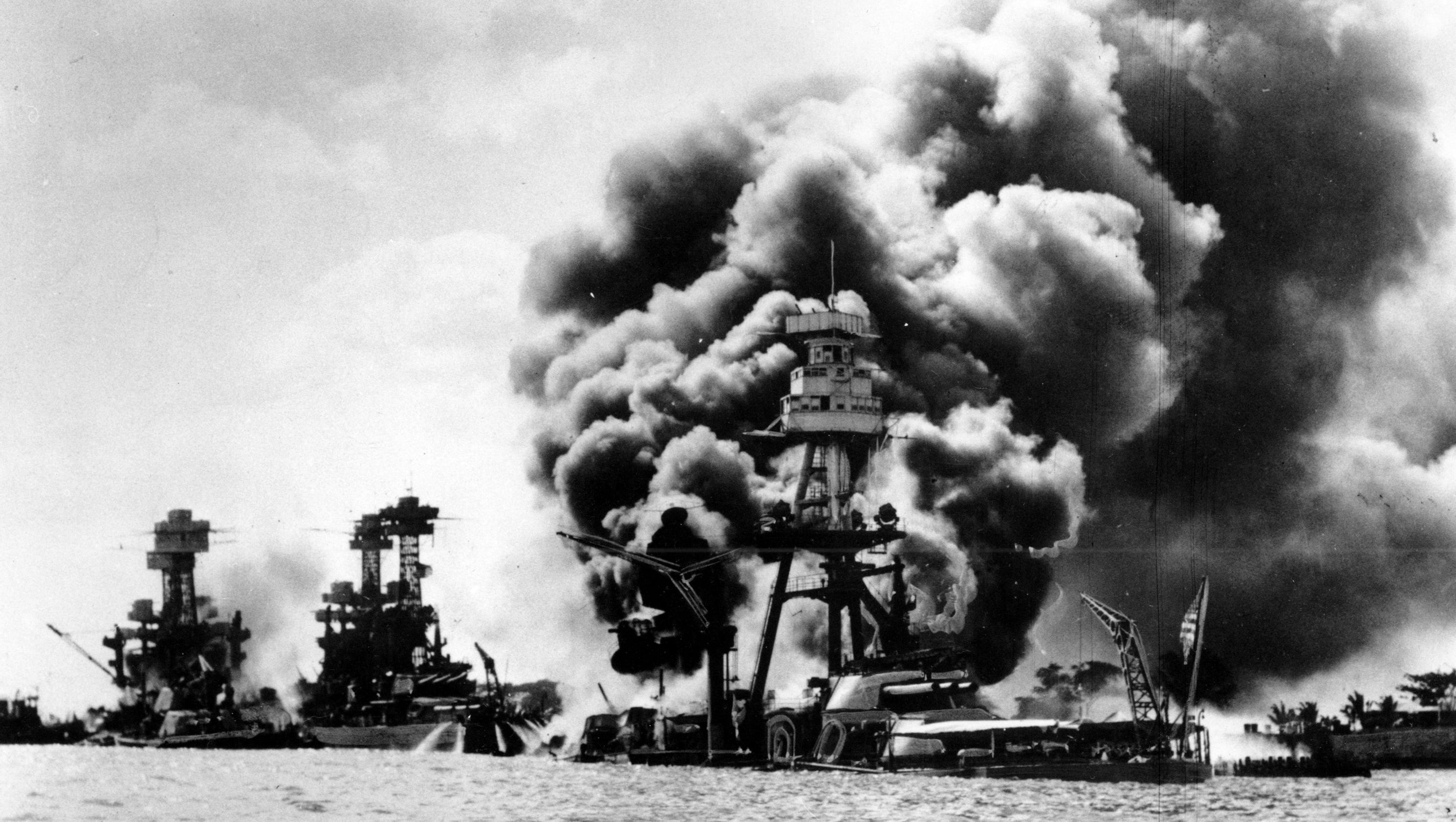 a history of world war ii in pearl harbor The role of world war ii in the history of the united states of america as in world war i  and 22 days after japan bombed pearl harbor, world war ii ended.