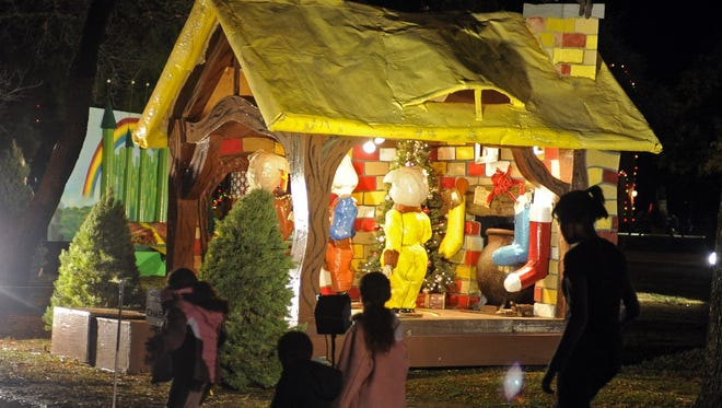 One of Wichita Falls' most anticipated holiday displays is the MSU-Burns Fantasy of Lights, which features 36 storybook and holiday-themed vignettes on the Hardin Building lawn. The display opens Nov. 21 for the 2016 holiday season.