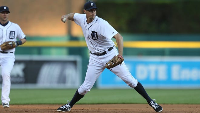 Don Kelly played numerous positions in his six years with the Detroit Tigers.