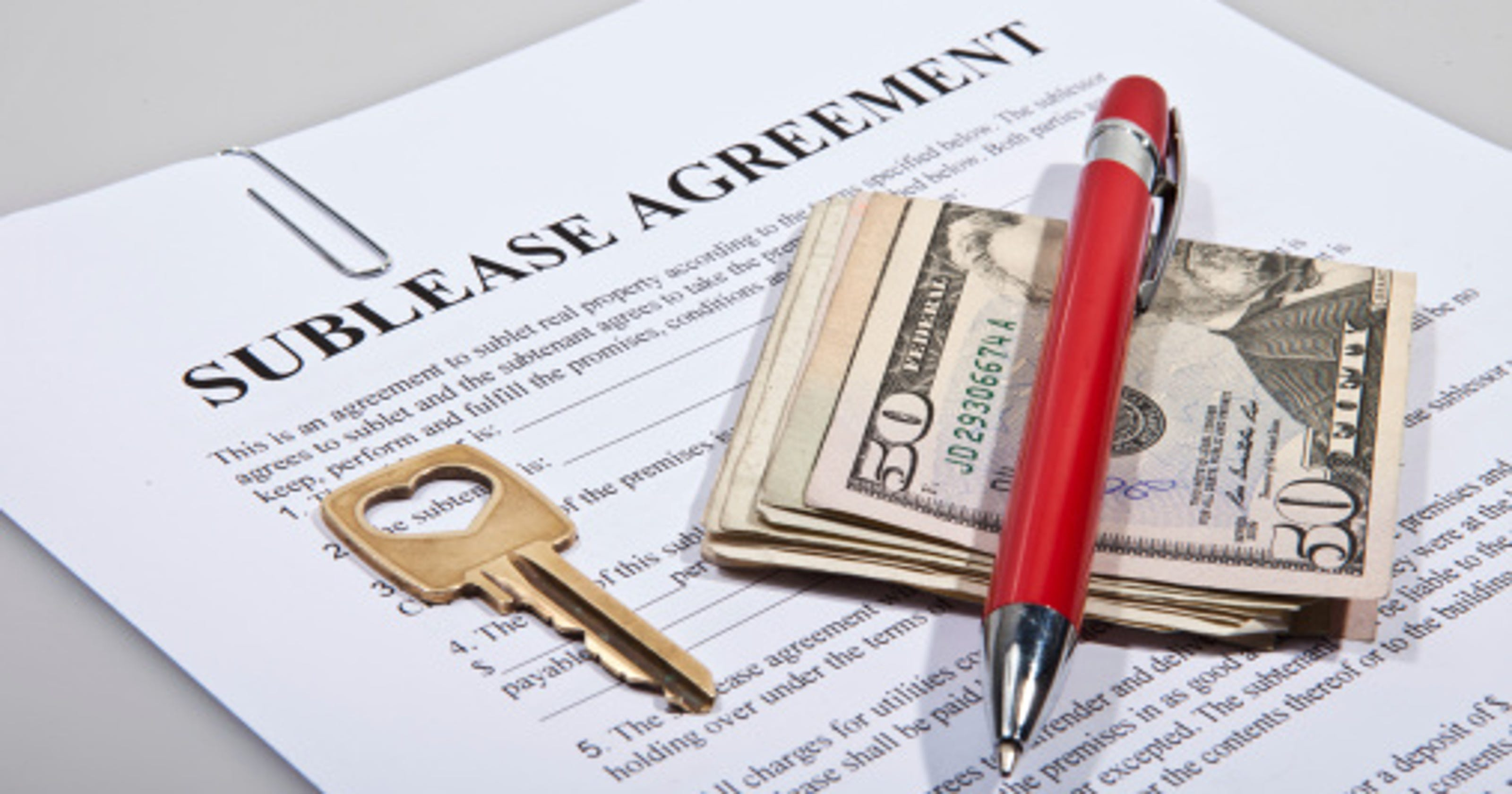 Know Rules For A Successful Sublease