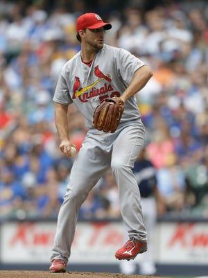 Cardinals starter Adam Wainwright