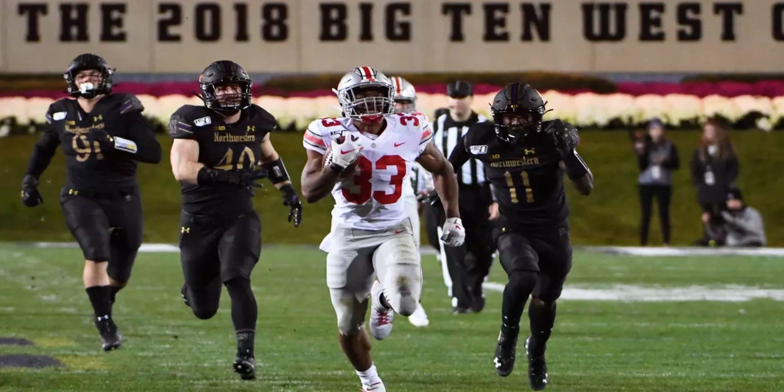 Five games in Week 9 that will impact the College Football Playoff race