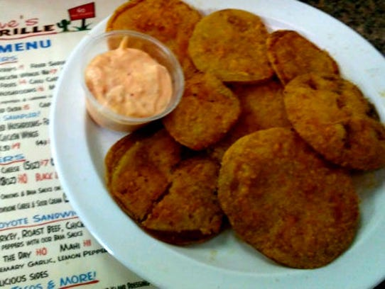 Charlene's Coyote Grill's fried green tomatoes.
